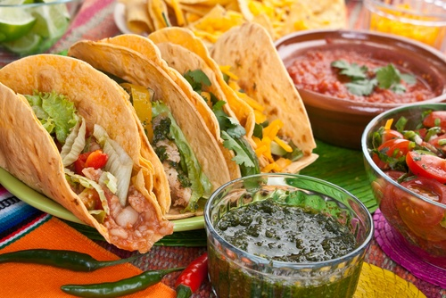 Grilled Turkey Tacos