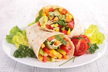 Cheese & Veggie Wrap
