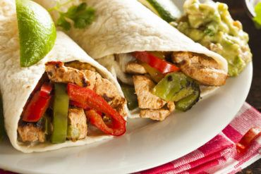 Grilled Chicken Fajita Wraps