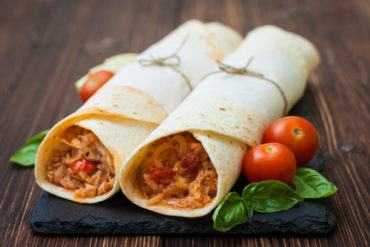 Chicken & Rice Wraps