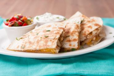 Cheesy Tuna Quesadillas