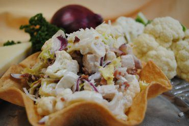 Cauliflower & Chicken Salad