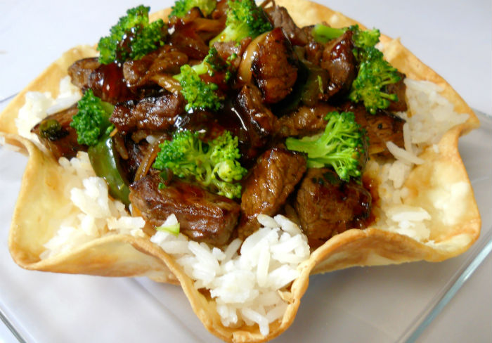 Beef & Broccoli Rice Bowl