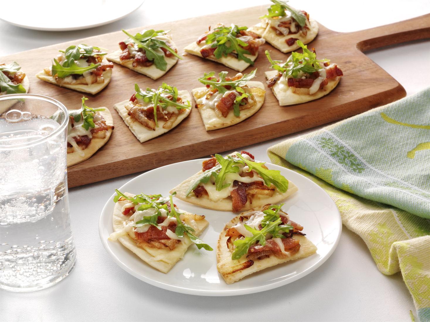 Flatbread with Bacon